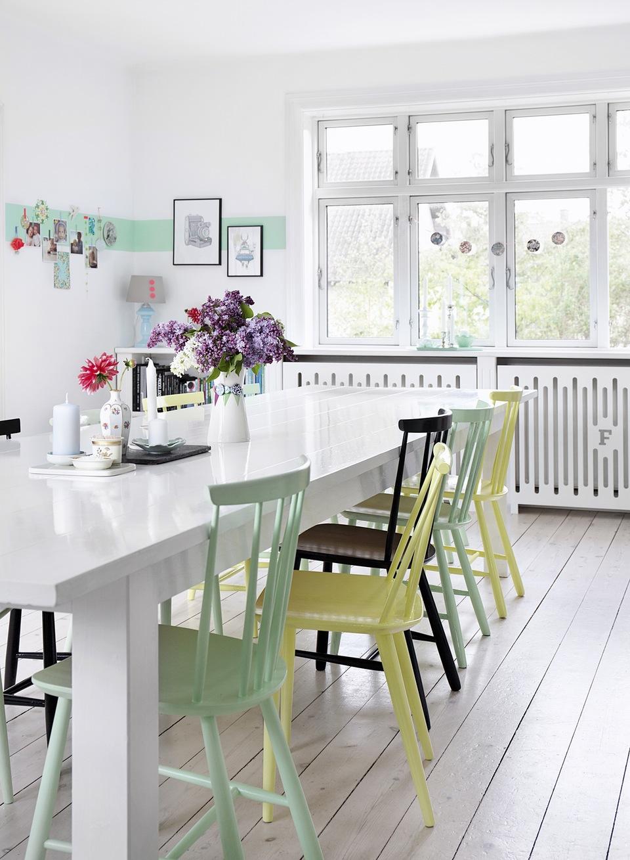 Decoración nórdica llena de luz, color y estampados - Blog tienda ...