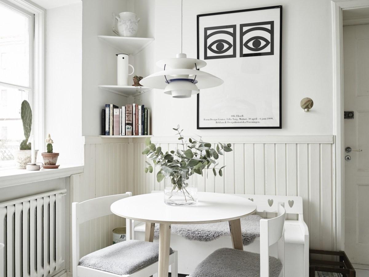 Decoraciones nórdicas – el póster de los ojos: 'Ögon Kakao' de Olle Eksell