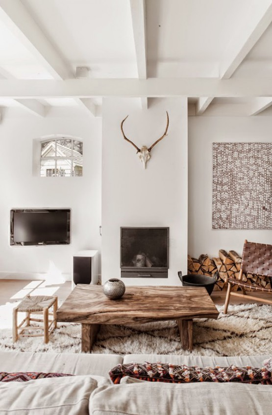 madera natural muebles estilo nórdico escandinavo decoración noretnic decoración nórdica etnica africana decoracíon en neutros y paleta natural casas holandesas estilo nórdico blog decoracion interiores blanco madera natural y estampados étnicos