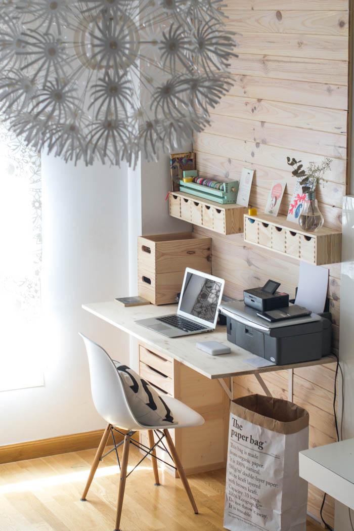 La oficina n rdica en casa blog tienda decoraci n estilo for Sillas para trabajo