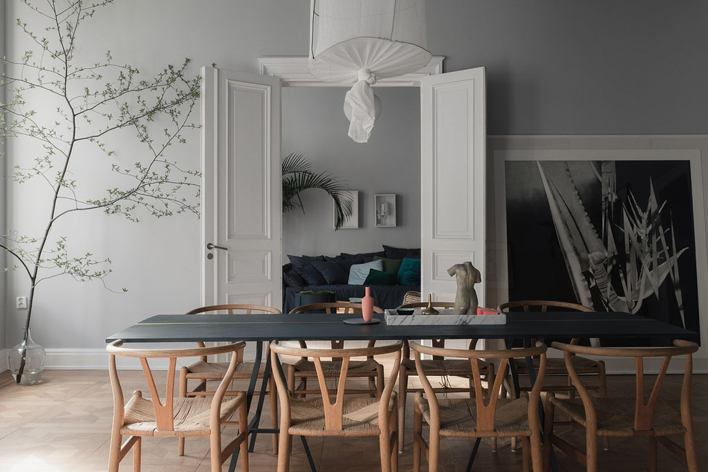 Colores oscuros en el techo - Blog decoración estilo nórdico ...