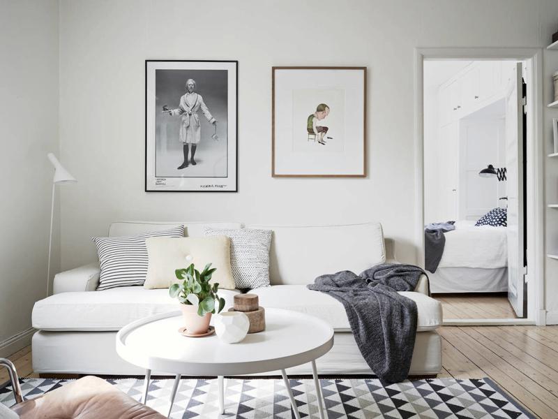 Sin miedo a los sofás blancos   blog decoración estilo nórdico ...