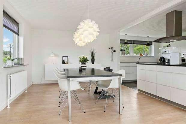 una casa danesa real en venta