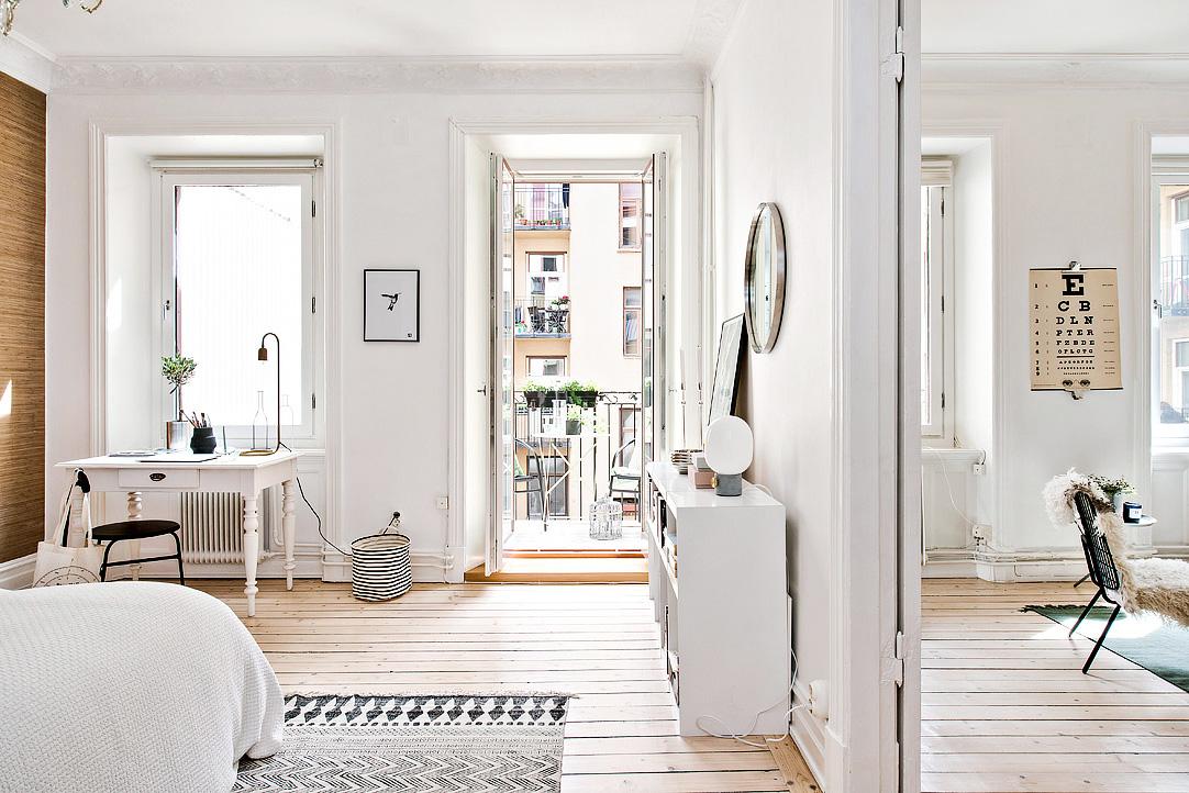 Dormitorio n rdico de suaves contrastes blog tienda - Blog decoracion dormitorios ...