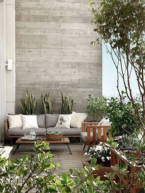 terrazas y balcones decoracin plantas y flores decoracin exterior mesas de verano inspiracin para decorar terrazas - Decoracion Balcones
