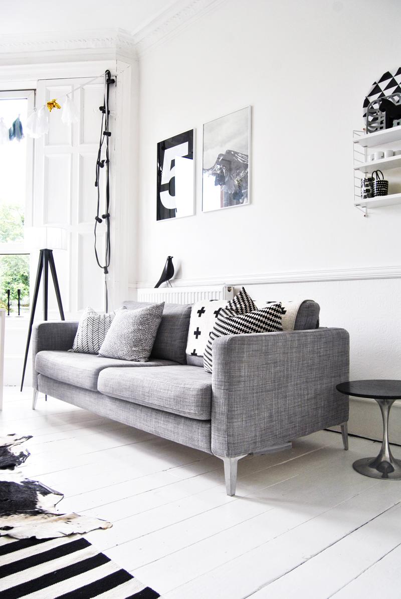 Los sof s m s populares entre los n rdicos blog tienda - Salones con sofa negro ...