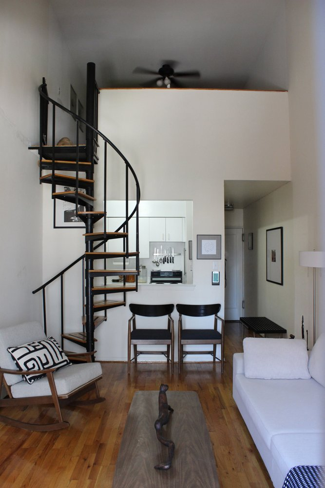 19 escaleras en pisos n rdicos blog tienda decoraci n for Disenos para escaleras interiores