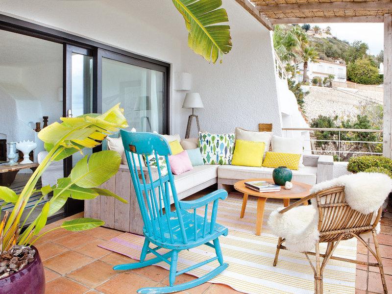 terrazas y balcones decoracin plantas y flores decoracin exterior mesas de verano inspiracin para decorar terrazas - Decoracion De Terrazas Exteriores