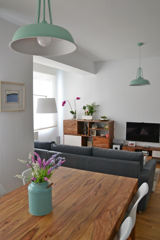 Hogares de nuestros lectores piso en zaragoza blog tienda decoraci n estilo n rdico - Blog de decoracion de interiores ...