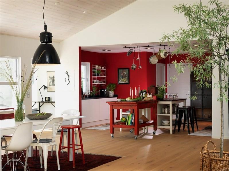 Colores fuertes para una casa n rdica blog tienda for Decoracion casa nordica