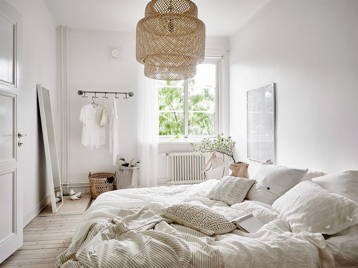 Peque o piso n rdico decorado con materiales naturales - Piso estilo nordico ...