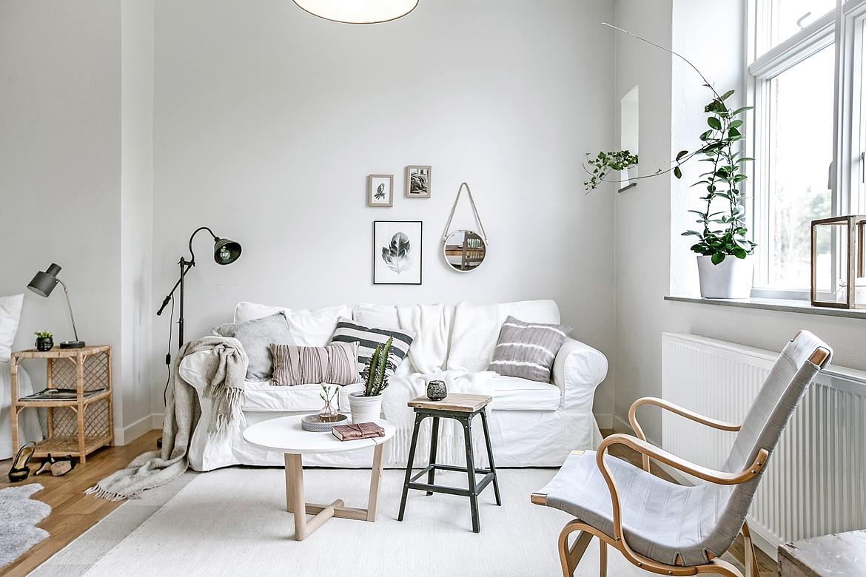 Piso de 38 m con planta abierta blog tienda decoraci n for Decoracion piso pareja joven