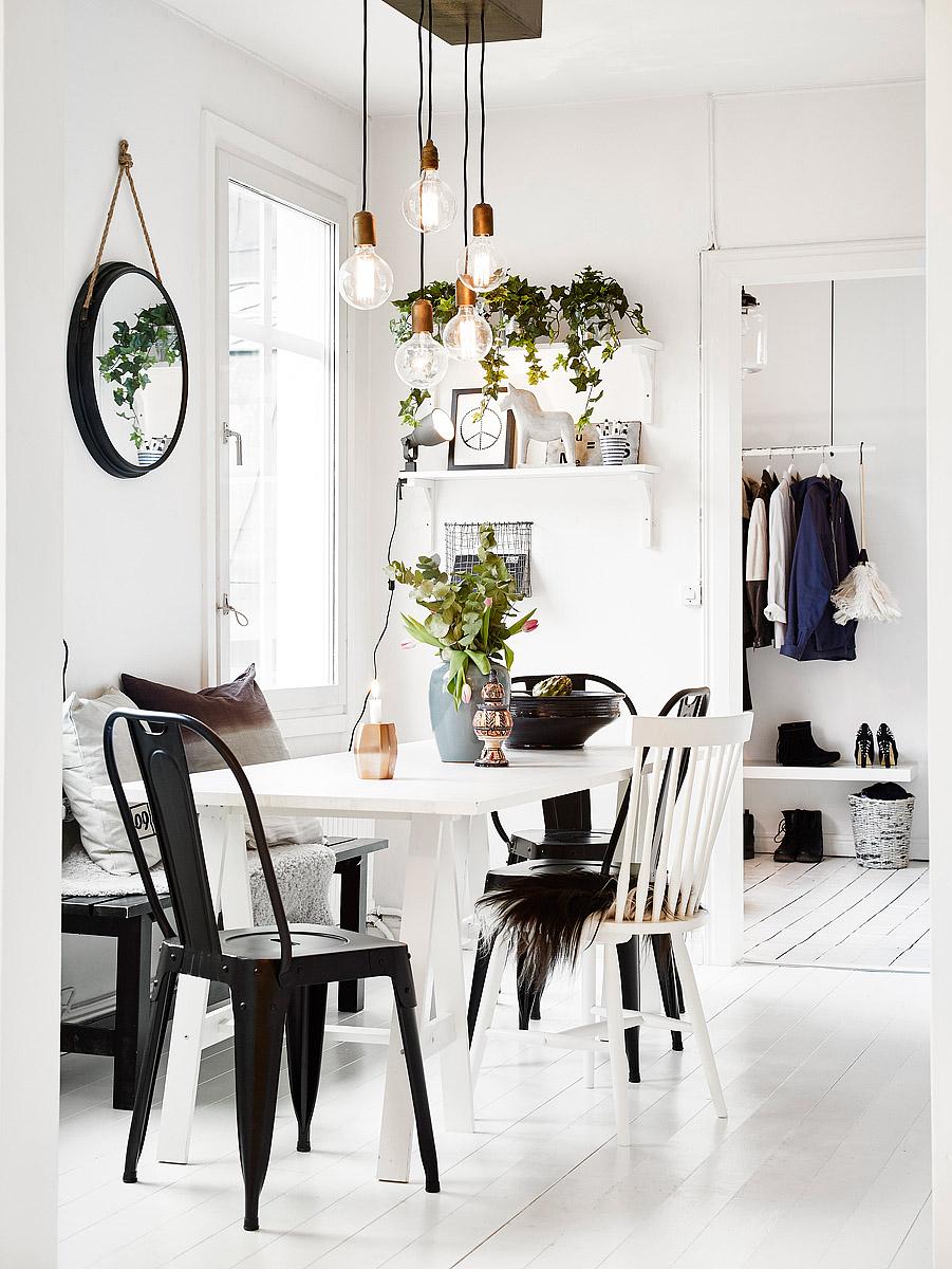 Blancos grises y muchos puntos de luz blog tienda for Decoracion nordica