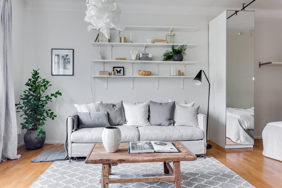 Interiores espacios peque os delikatissen blog tienda for Muebles diseno nordico