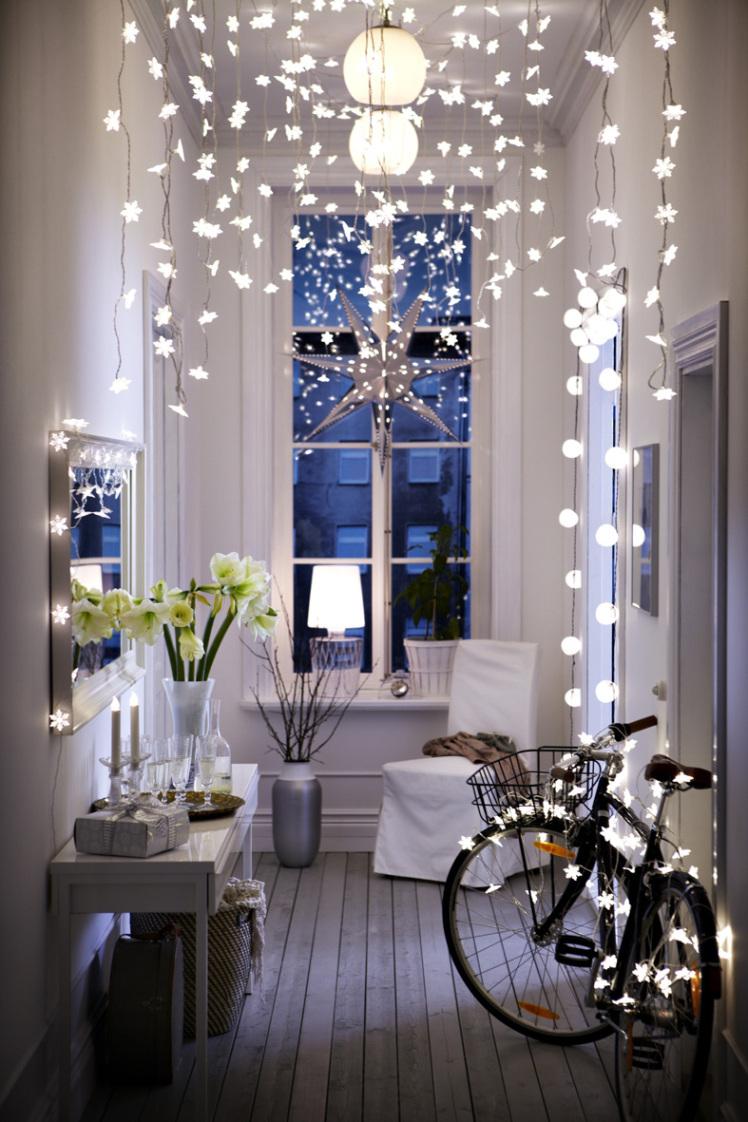 luces de navidad luces blancas cadenas guirnaldas guirnaldas de navidad estilo nrdico escandinavo estilismo navidad nordico - Guirnaldas De Luces