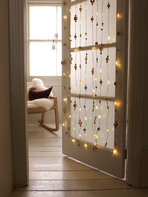 Luces y guirnaldas en la decoración nórdica navideña - Blog ...