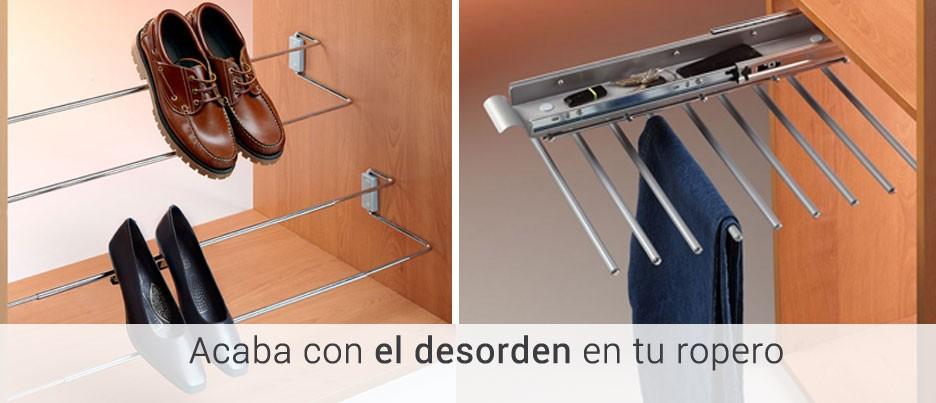 Casaenorden productos exclusivos para organizar tus - Accesorios para armarios roperos ...