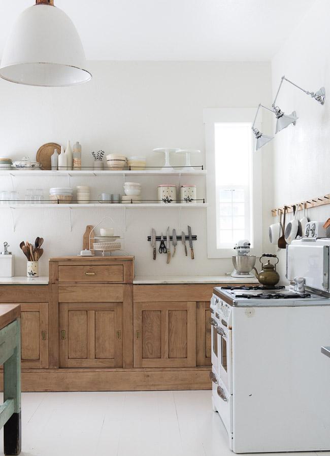 La nueva cocina r stica blog tienda decoraci n estilo n rdico delikatissen - Cocina rustica blanca ...