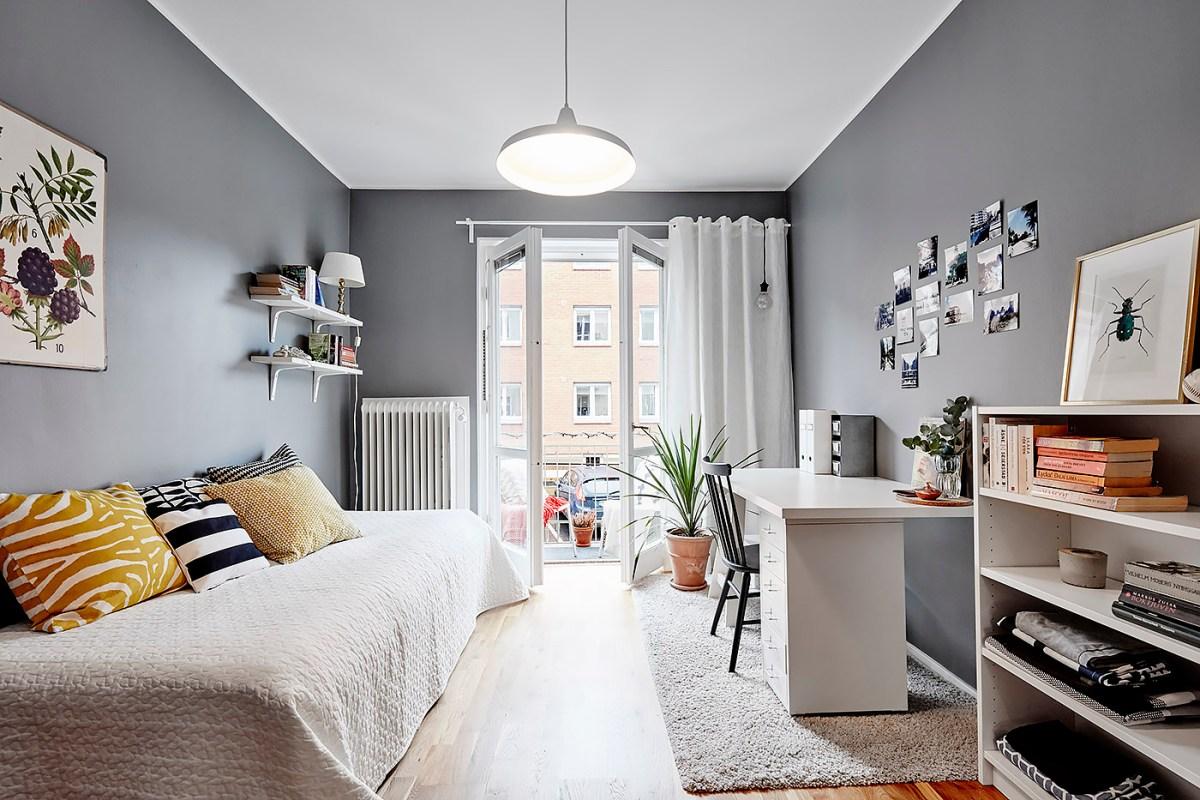 Habitaciones juveniles de estilo n rdico blog tienda - Estilo nordico decoracion ...