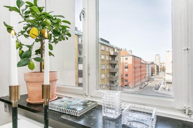 Un hogar en 34 m² planta abierta interiores espacios pequeños estudio diáfano diseño pisos pequeños decoración pisos suecos decoración minipisos decoración en gris blog decoración nórdica
