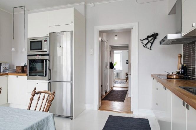 soluciones colecciones estilo nórdico estilo escandinavo cocinas decoración interiores decoración en blanco decoración colecciones Cómo exponer colecciones en casa cocina nórdica moderna blog decoración nórdica