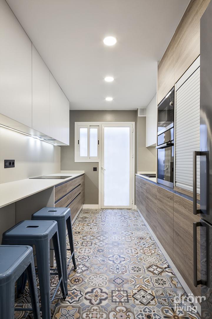 Decorar un piso moderno un piso moderno de m with decorar for Decorar piso viejo