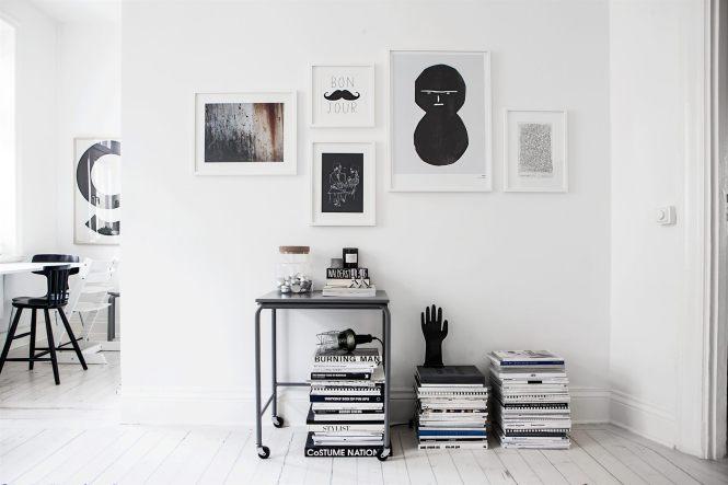 fondo armario decoración estilo nórdico escandinavo Estilo nórdico en blanco y negro decoración interiores decoración infantil blanco negro decoración habitaciones infantiles decoración en blanco blog decoración nórdica