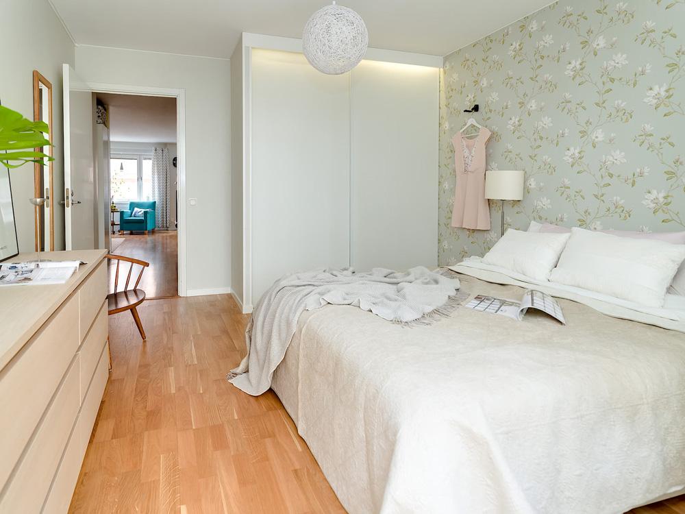 Tu dormitorio m s femenino con papel de pared floral for Dormitorios femeninos