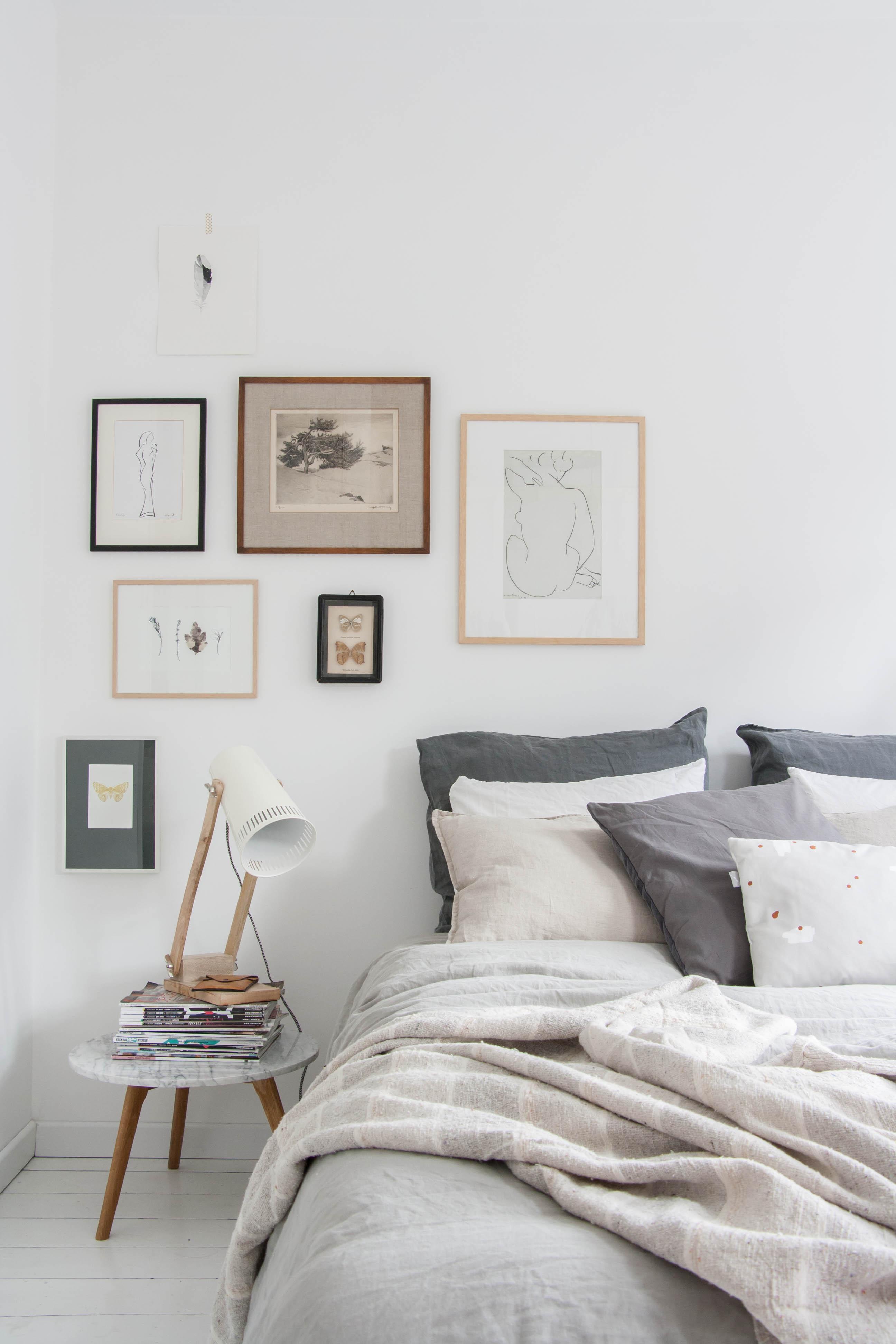 As Se Convierte Un Dormitorio Terrible En Uno De Elegante Estilo  ~ Habitacion De Matrimonio Blanca