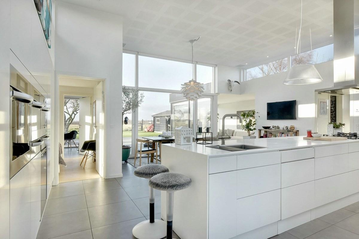 Vivienda danesa donde se apuesta por la energ a eficiente for Decoracion danesa