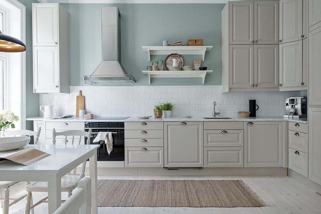 Cocina serena de aire country blog tienda decoraci n for Cocina estilo nordico