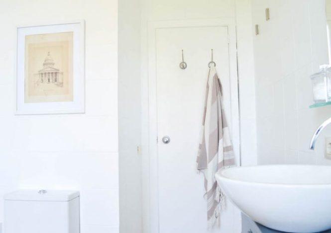 reforma cuarto de baño reforma con pintura pintura para baldosas diy decoración decoración nórdica blog decoración interiores nórdicos antes después decoración