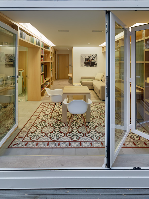 Proyecto Mueble Funcional Diseño De Mobiliario A Medida: Reforma De Piso Con Terraza En Ourense