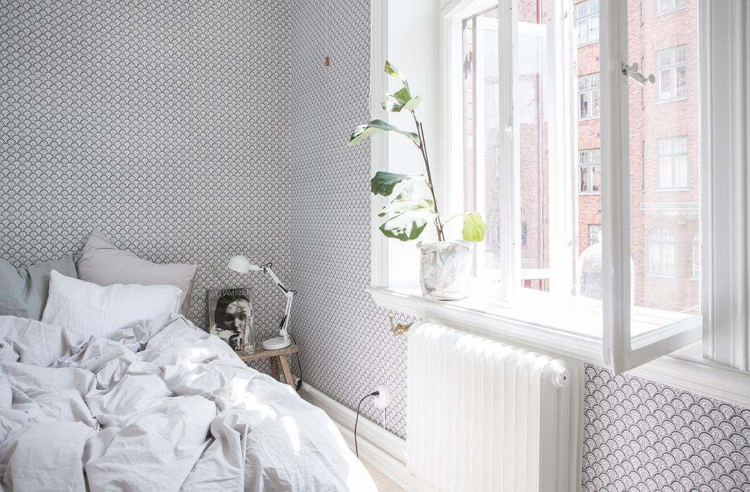 Delicado papel pintado blog tienda decoraci n estilo - Papel pintado elegante ...