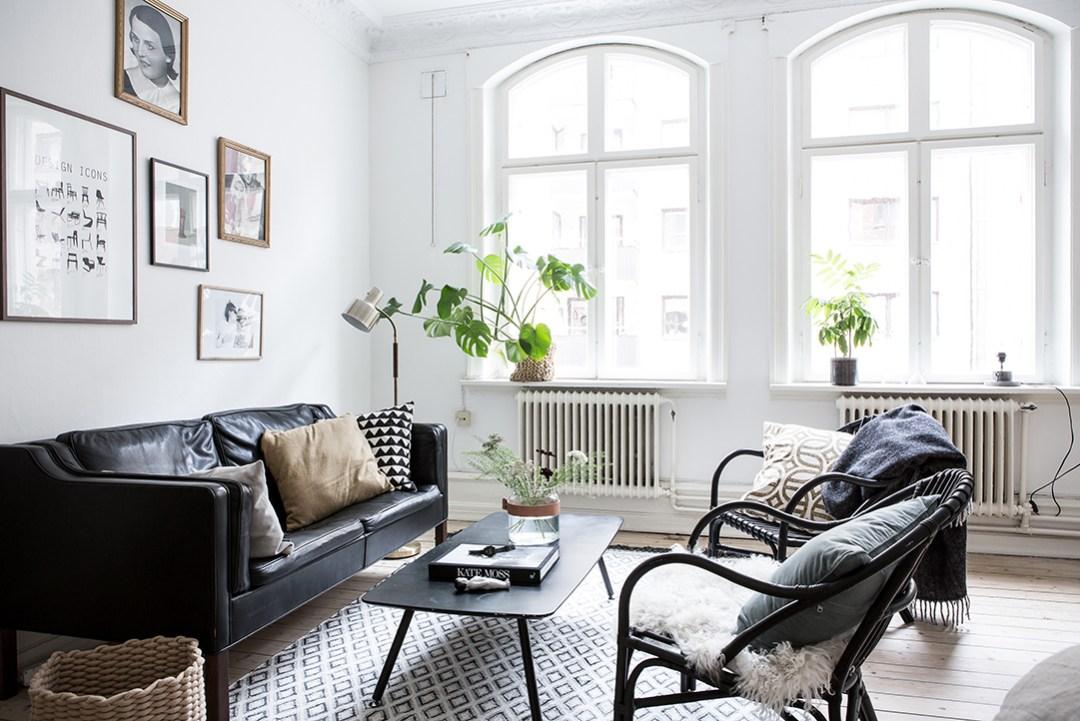 Sof s de piel blog decoraci n estilo n rdico delikatissen for Idea interior muebles