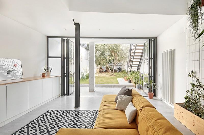 Casa unifamiliar en sabadell blog tienda decoraci n for Interiorismo estilo nordico