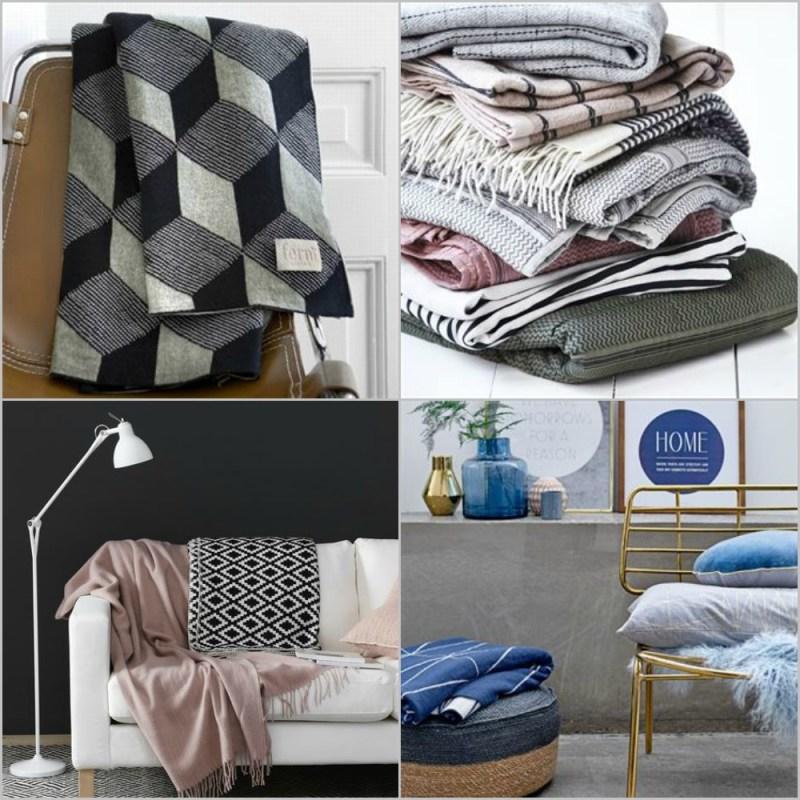 Mantas y plaids para las tardes de sof blog tienda for Plaids para sofa
