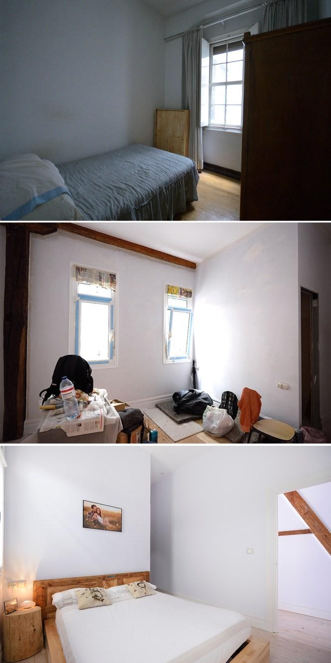 vigas madera reforma nordica hogares lectores decoración nordica bilbao decoración hogares reales casas de verdad blog decoración nórdica antes después