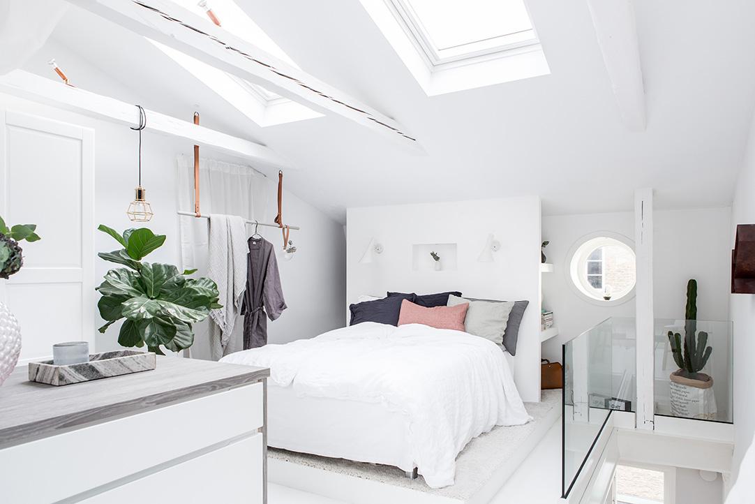 estilo escandinavo duplex pequeo decoracin decoracin vestidor decoracion dormitorios blog decoracin nrdica - Dormitorio Con Vestidor