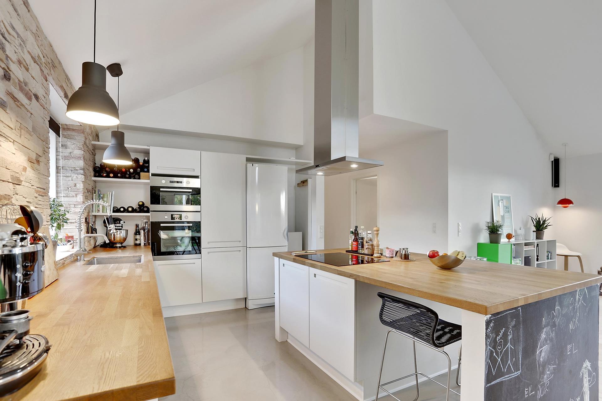 Muebles y armarios bajos de cocina blog tienda decoraci n estilo n rdico delikatissen - Cocina encimera madera ...