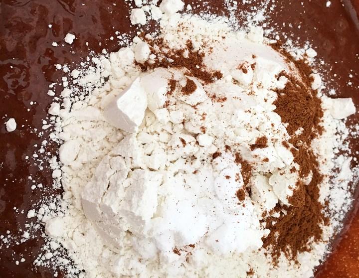 tarta de queso tarta de calabaza pumpkin pie Pumpkin cheesecake brownies postres recetas delikatissen postres con calabaza pastel de queso mezcla de brownies brownie base tarta cheesecke