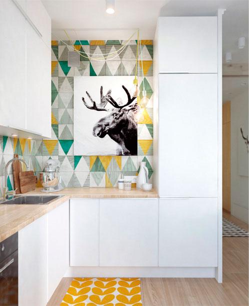 Una pared de pizarra en la cocina - Blog tienda decoración estilo ...