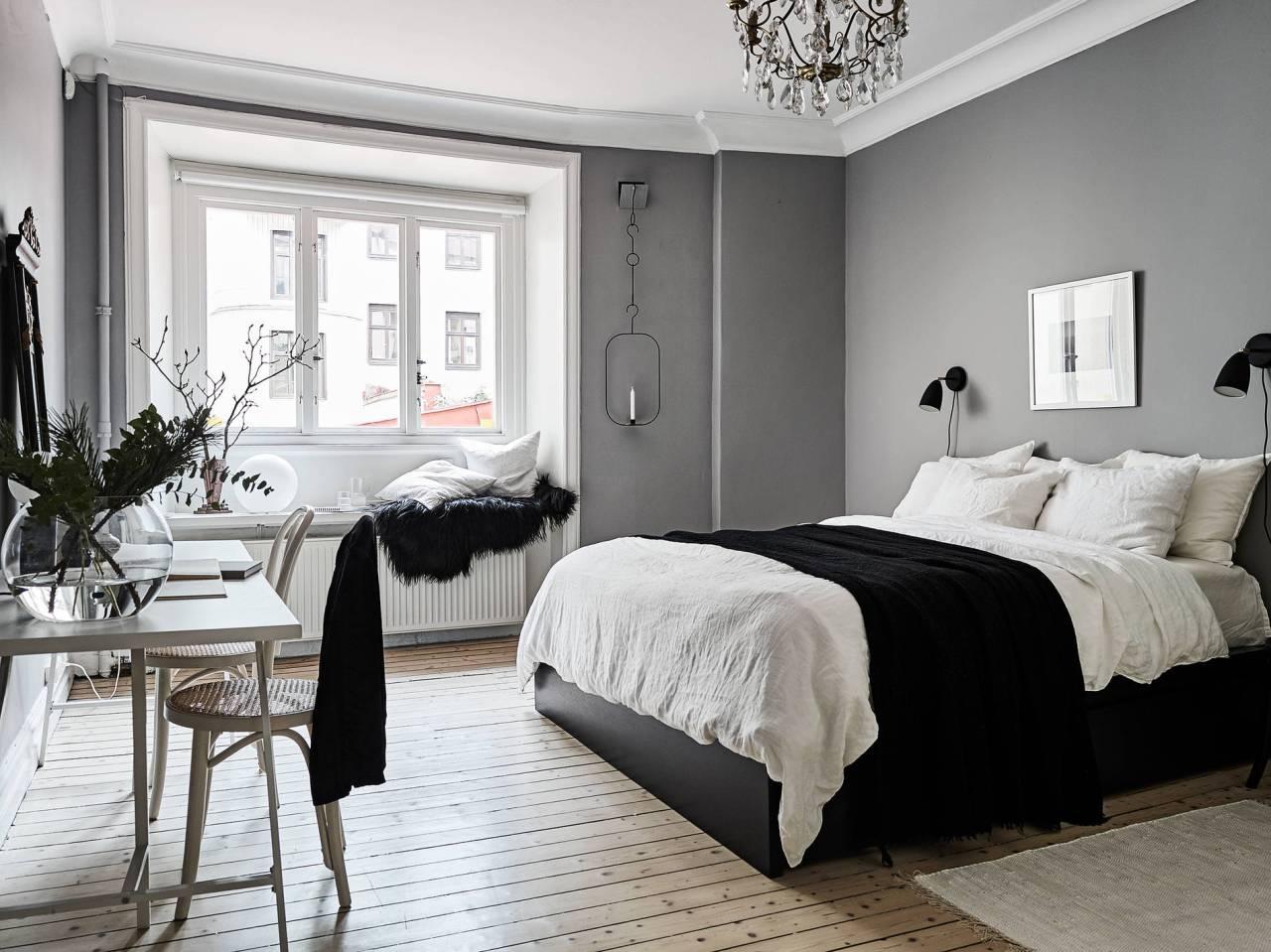 Paredes grises y carpinter a blanca blog tienda - Tonos de pintura ...