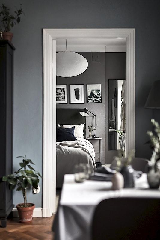 Piso n rdico de 44 m en gris oscuro blog tienda for Tonos grises pintura pared