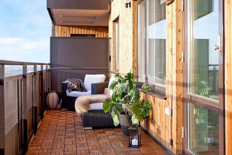 Terraza revestida en madera blog tienda decoraci n for Losetas madera terraza