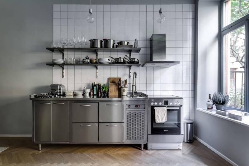 Peque a cocina inspirada en una profesional blog tienda for Cocina profesional en casa