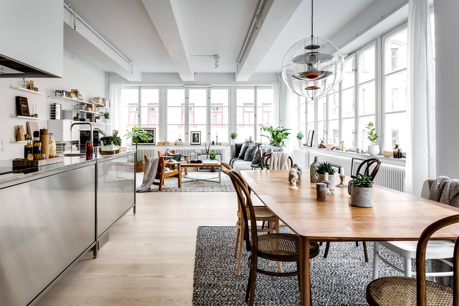 Apartamento tipo loft con grandes ventanales blog tienda - Apartamento tipo loft ...