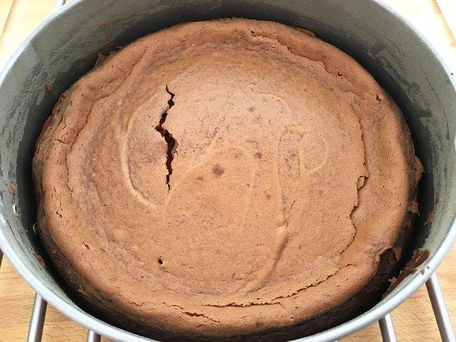 tartas fáciles tartas con frutas tartas con frambuesas tartas americanas tarta de queso con chocolate tarta de queso recetas delikatissen postres delikatissen Cheesecake de chocolate cheesecake