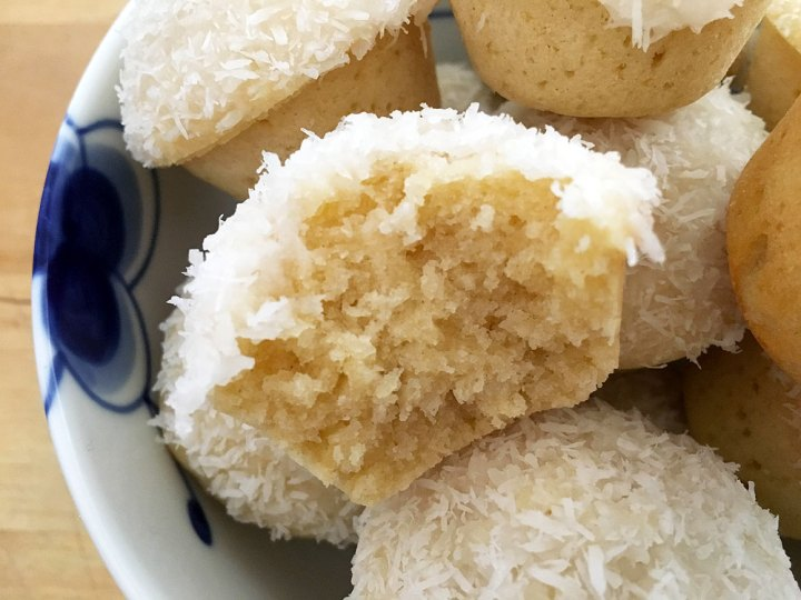 Minimuffins de coco