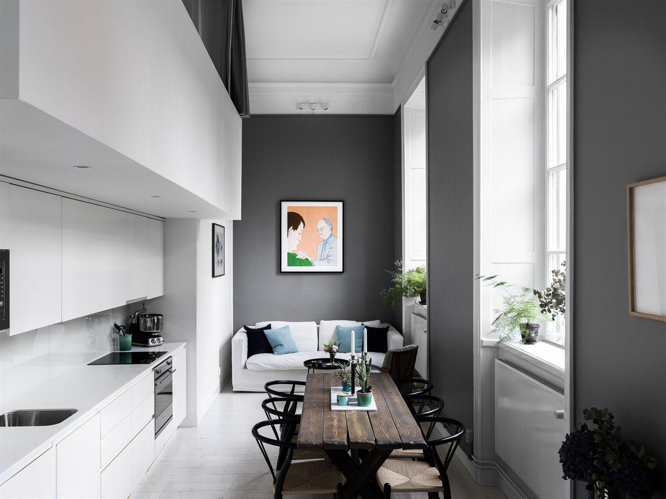 Peque o d plex con acogedor dormitorio blog tienda for Decoracion duplex pequenos